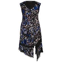 Buy Chesca Floral Print Dress, Cobalt Online at johnlewis.com