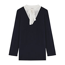 Buy Gerard Darel Meryl Jumper, Navy Blue Online at johnlewis.com