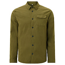Buy Kin by John Lewis Padded Shacket, Khaki Online at johnlewis.com