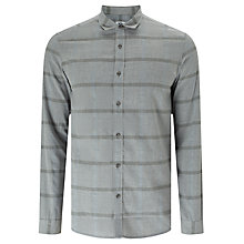 Buy Kin by John Lewis Melange Squares Shirt, Grey Online at johnlewis.com