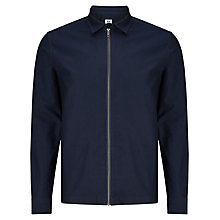 Buy Kin by John Lewis Twill Cotton Shacket, Navy Online at johnlewis.com