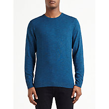 Buy Kin by John Lewis Jaspe All Over Texture Jumper, Legion Blue/Black Online at johnlewis.com