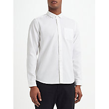 Buy Kin by John Lewis Waffle Texture Shirt, Off White Online at johnlewis.com