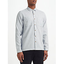Buy Kin by John Lewis Herringbone Fleck Shirt, Ecru Online at johnlewis.com