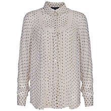 Buy French Connection Daisy Star Shirt, Classic Cream Online at johnlewis.com