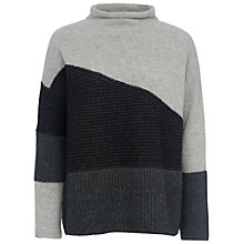 Buy French Connection Patchwork Tonal Jumper Online at johnlewis.com