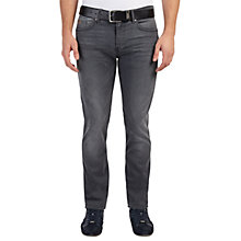 Buy BOSS Green C-Delaware Jeans, Open Blue Online at johnlewis.com