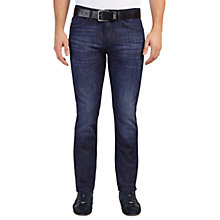 Buy BOSS Green Slim Fit C-Delaware Jeans, Medium Blue Online at johnlewis.com