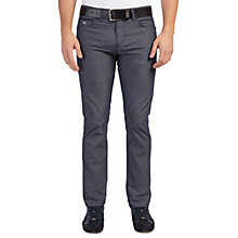 Buy BOSS Green Slim Fit C-Delaware Jeans, Navy Online at johnlewis.com