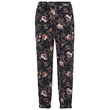 Buy French Connection Adeline Dream Drape Joggers, Olive Multi Online at johnlewis.com