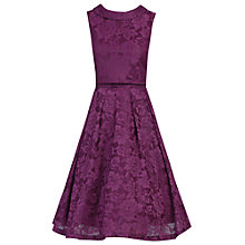 Buy Jolie Moi Lace Bonded Overlay Dress Online at johnlewis.com