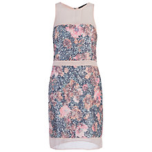 Buy French Connection Adeline Dream Sequin Dress, Peonie Online at johnlewis.com