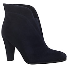 Buy Carvela Comfort Rida Cut Out Ankle Boots, Navy Online at johnlewis.com