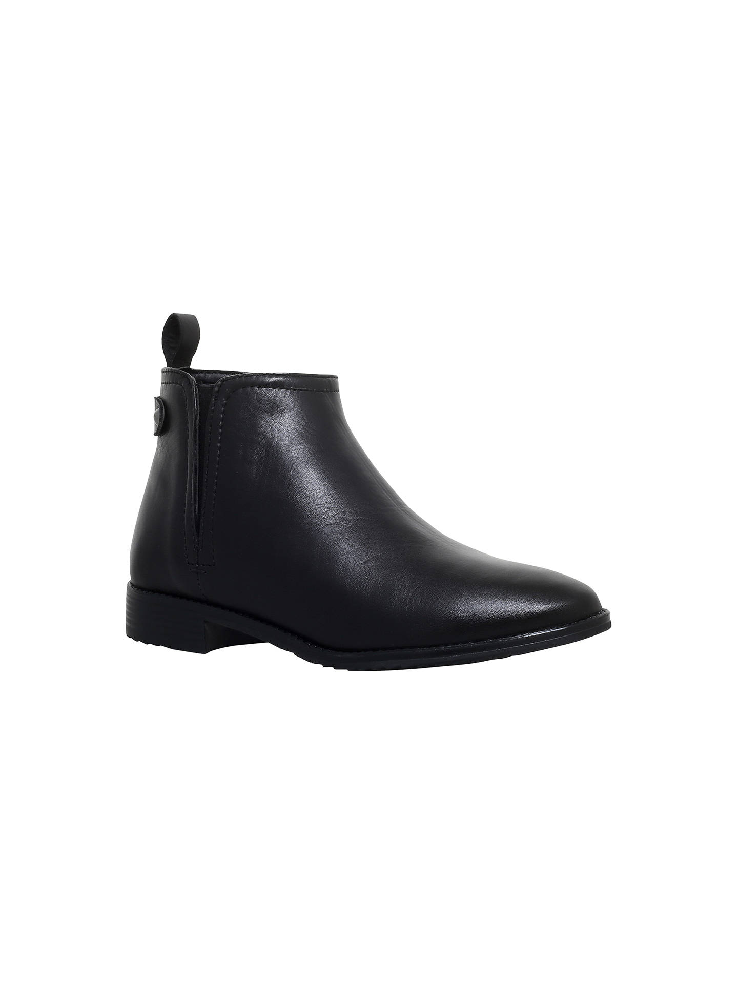 BuyCarvela Comfort Rex Pull On Ankle Boots, Black, 3 Online at johnlewis.com