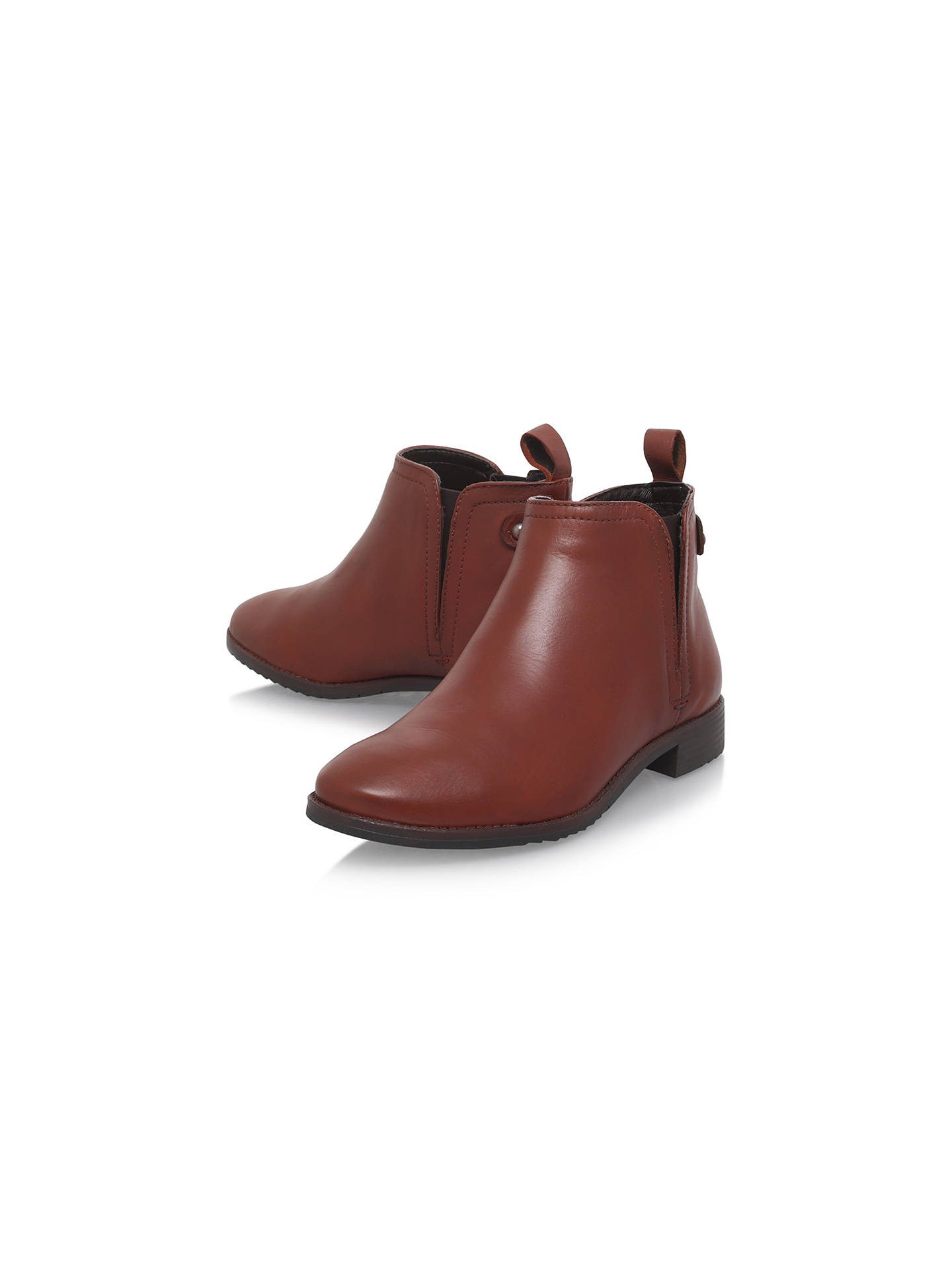 Buy Carvela Comfort Rex Pull On Ankle Boots, Tan, 5 Online at johnlewis.com