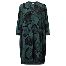 Buy Kin by John Lewis Hexagon Print Shirt Dress, Teal Online at johnlewis.com