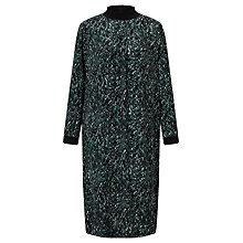 Buy Kin by John Lewis Kyoto Print Dress, Teal Online at johnlewis.com