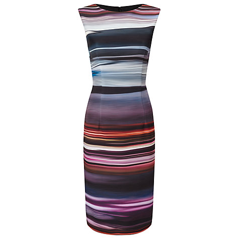 Buy Phase Eight Stripe Scuba Dress, Multi-Coloured Online at johnlewis.com