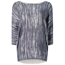 Buy Phase Eight Becca Space Dye Print Jumper, Slate Online at johnlewis.com