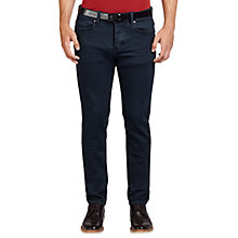 Buy BOSS Orange Orange90 Tapered Fit Jeans, Navy Online at johnlewis.com