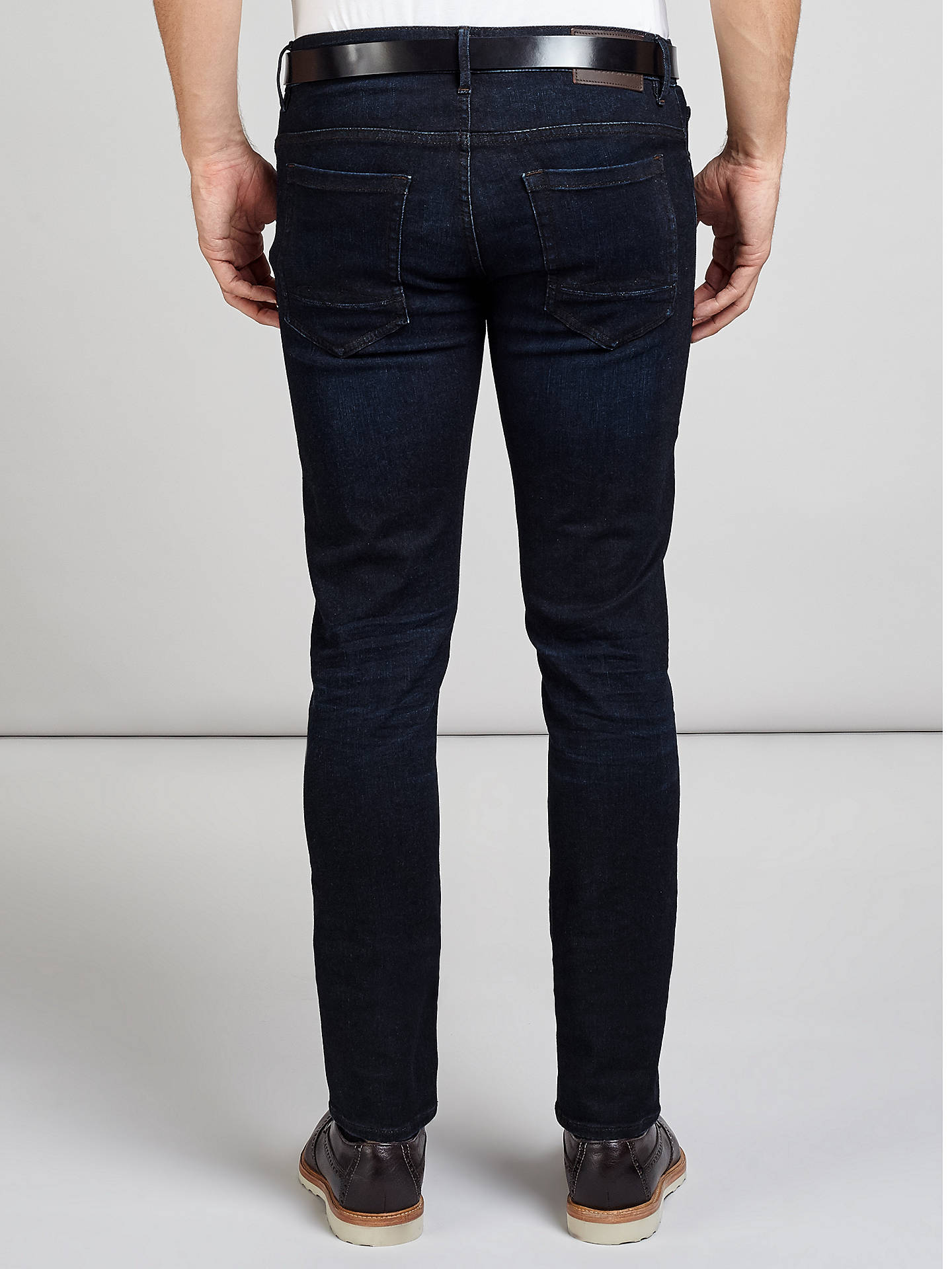 BuyBOSS Orange Orange72 Skinny Jeans, Navy, 32S Online at johnlewis.com