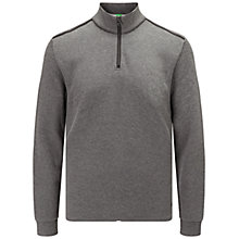 Buy BOSS Green C-Piceno Sweatshirt, Medium Grey Online at johnlewis.com