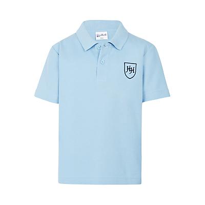 Heath House Preparatory School Polo Shirt, Sky Blue