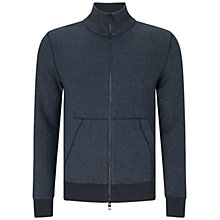 Buy BOSS Orange Ztark Zipped Jacket, Dark Blue Online at johnlewis.com