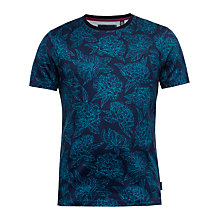 Buy Ted Baker Piero Floral Cotton T-Shirt Online at johnlewis.com