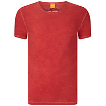 Buy BOSS Orange T-Shirt, Medium Red Online at johnlewis.com
