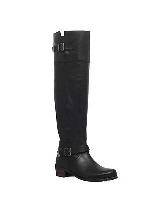 9046e499a51 UGG Bess High Leg Boots, Black at John Lewis & Partners