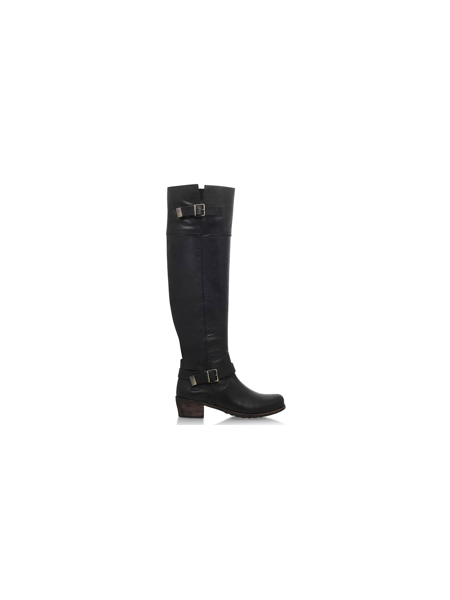 8f8cd10f75a UGG Bess High Leg Boots, Black at John Lewis & Partners