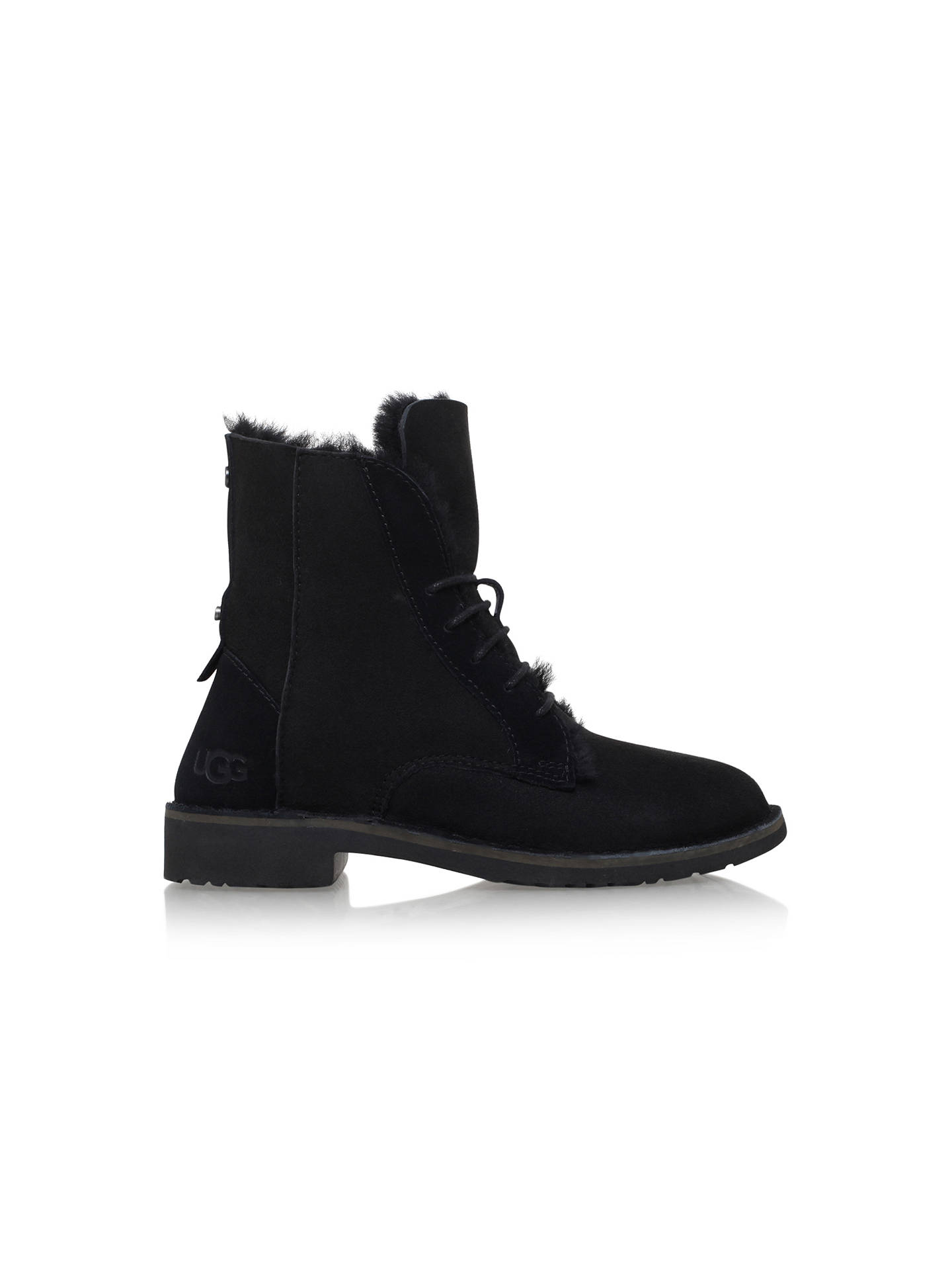 291ae27eee2 UGG Quincy Lace Up Ankle Boots at John Lewis & Partners