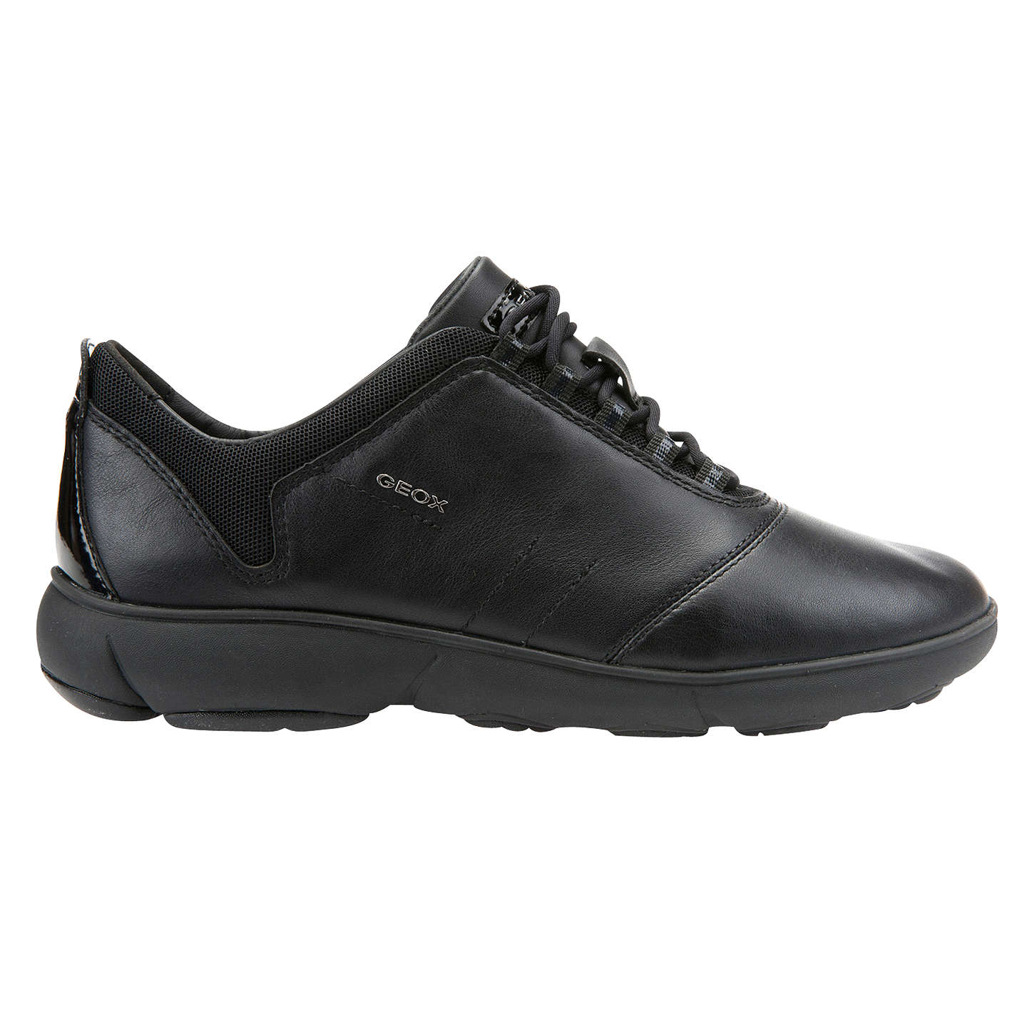 BuyGeox Women's Nebula Trainers, Black, 4 Online at johnlewis. ...
