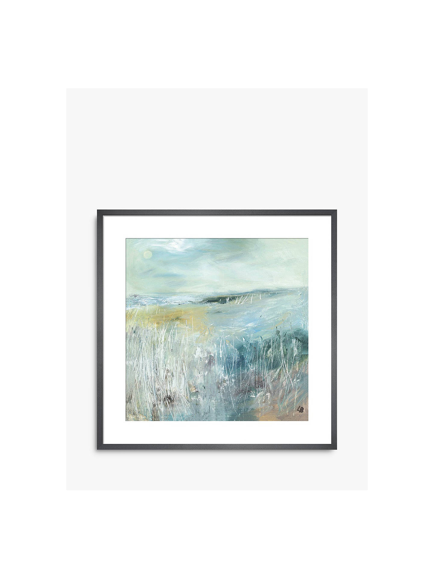 Buy Lesley Birch - Another Winter, Grey Framed Print, 40 x 40cm Online at johnlewis.com