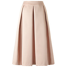 Buy Jacques Vert Satin Prom Skirt, Pink Online at johnlewis.com