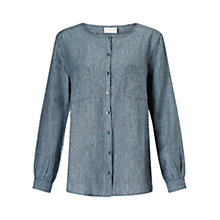 Buy East Pocket Detail Shirt, Dusk Online at johnlewis.com