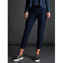 Buy Modern Rarity Sharp Cigarette Trousers, Navy Online at johnlewis.com