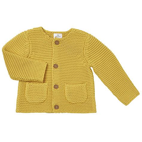 Buy John Lewis Baby Chunky Knit Cardigan | John Lewis