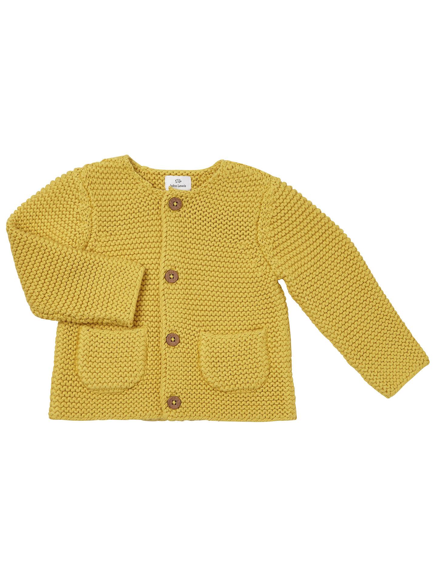 82f63084a John Lewis Baby Chunky Knit Cardigan