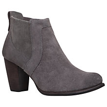 Buy UGG Cobie II Block Heel Ankle Boots, Grey Suede Online at johnlewis.com