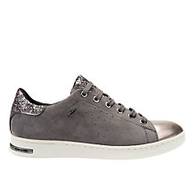 Buy Geox Jaysen Glitter Lace Up Trainers Online at johnlewis.com