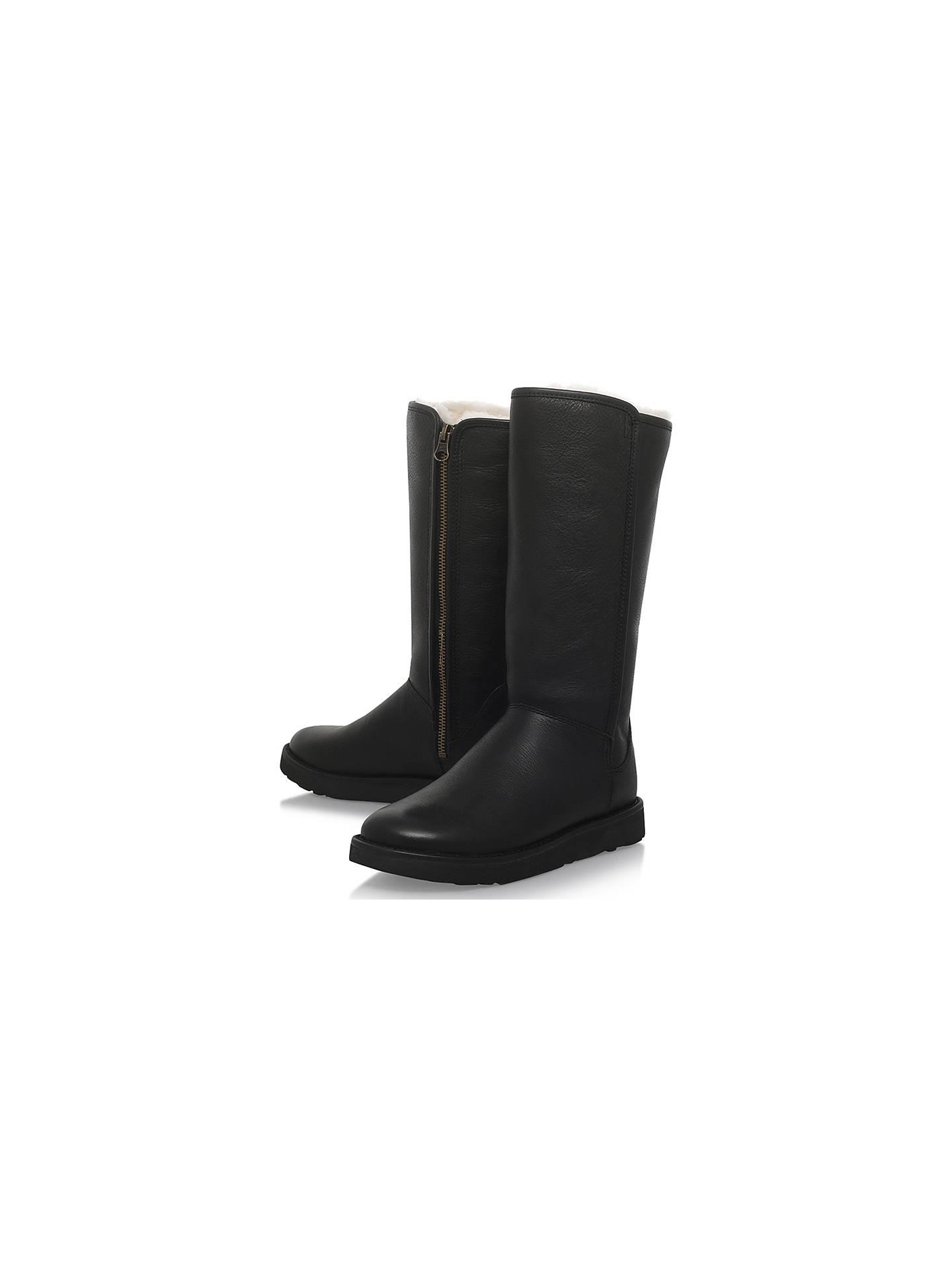 af3fa5c2c6c UGG Abree II Knee High Boots, Black at John Lewis & Partners