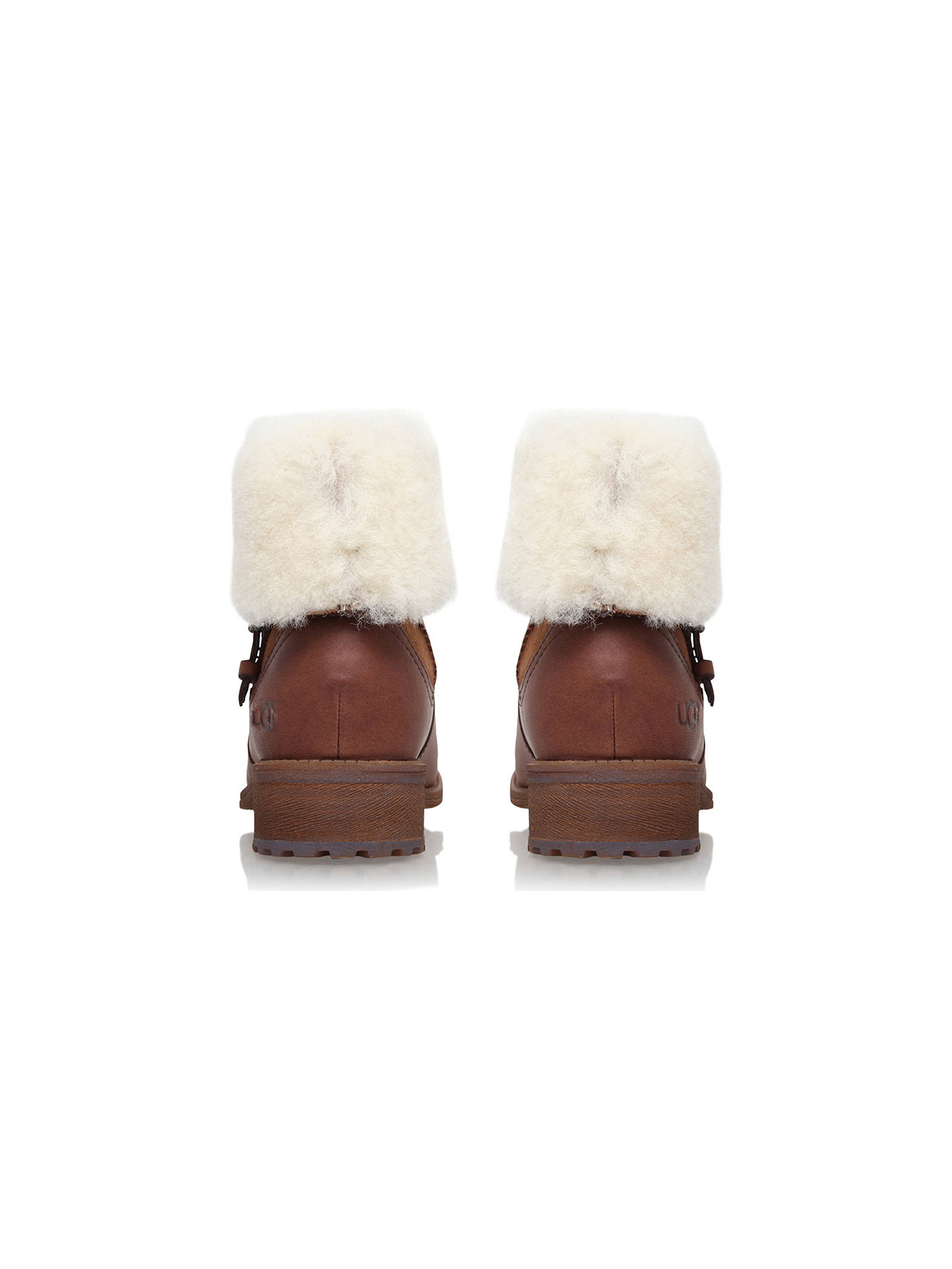 409d4ad662f UGG Chyler Block Heeled Ankle Boots at John Lewis & Partners