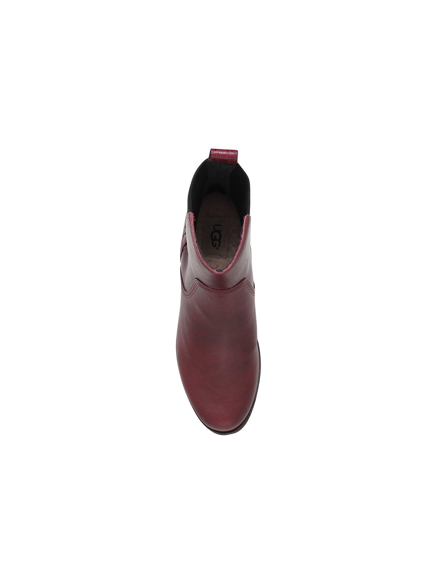 6f5b65a4bd4 UGG Keller Croc Ankle Boots at John Lewis & Partners