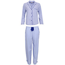Buy Cyberjammies Vienna Spot Print Pyjama Set, Blue/Multi Online at johnlewis.com