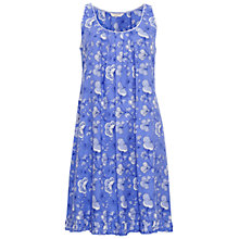 Buy Cyberjammies Vienna Floral Print Chemise, Blue/Multi Online at johnlewis.com
