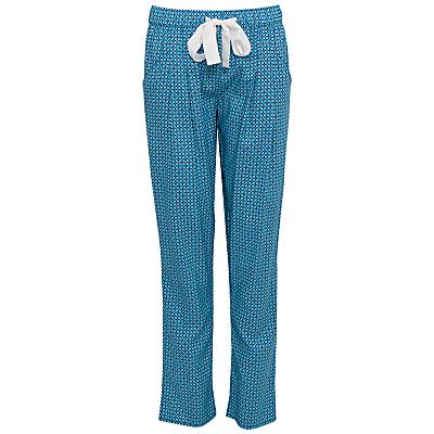 Cyberjammies Camilla Geo Print Pyjama Bottoms, Teal