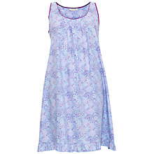 Buy Cyberjammies Elsie Spot Print Chemise, Blue/Purple Online at johnlewis.com