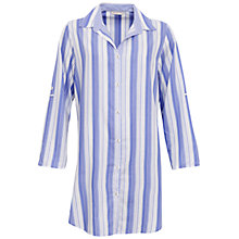 Buy Cyberjammies Vienna Stripe Night Shirt, Blue/Multi Online at johnlewis.com